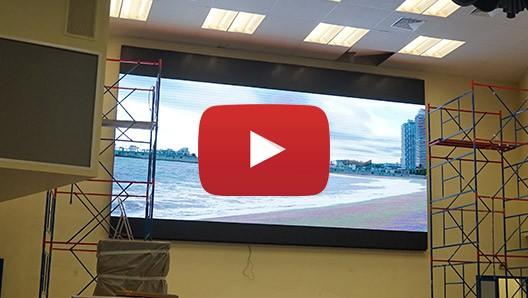 Внутренние светодиодные экраны для фиксированной установки видео