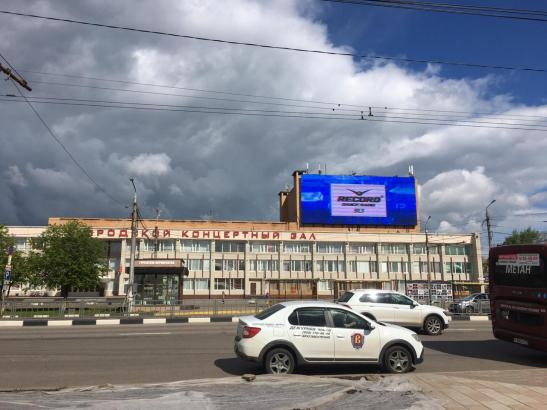 Медиафасад на здании городского концертного зала  изображение 6