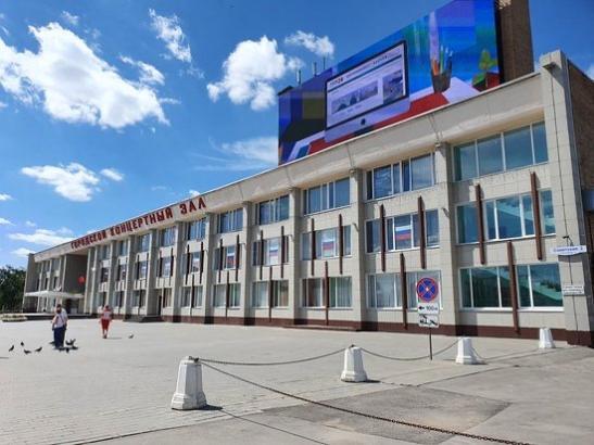 Медиафасад на здании городского концертного зала  изображение 0