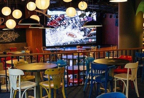 """Внутренний светодиодный экран для кафе """"У Дяди Макса"""" изображение 4"""