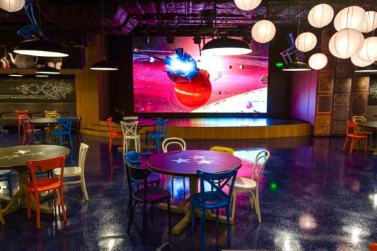 """Внутренний светодиодный экран для кафе """"У Дяди Макса"""" изображение 5"""