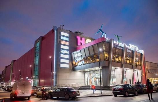 """Светодиодный потолок в торговом центре """"Нора"""" изображение 7"""