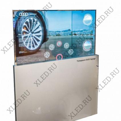 xLED OLED Touch Kiosk