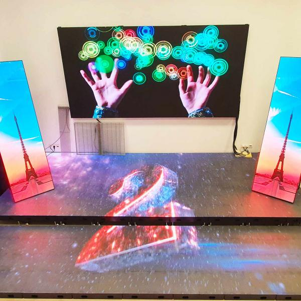 Шоурум светодиодных экранов в Москве XLED