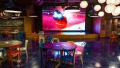 Внутренний светодиодный экран для кафе