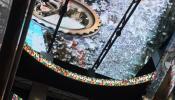 Светодиодный потолок в торговом центре
