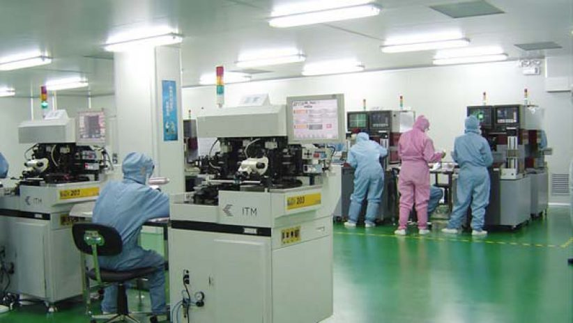Изготовление светодиодных LED экранов в Китае