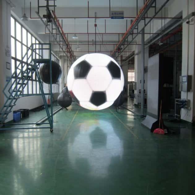 Светодиодная сфера - футбольный мяч