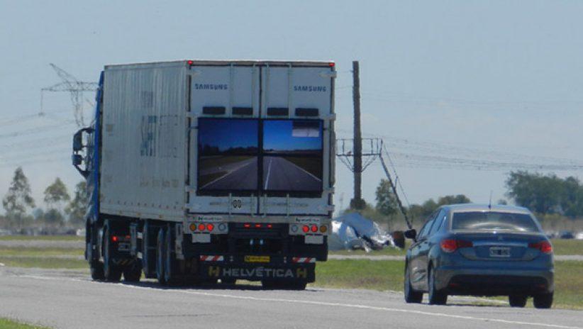 «Прозрачные» грузовики